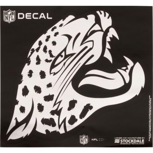 "Stockdale Jacksonville Jaguars 6"" x 6"" Metallic Vinyl Die-Cut Decal"
