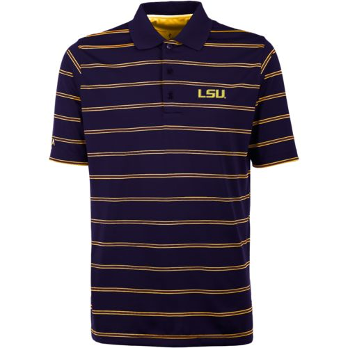 Antigua Men's Louisiana State University Deluxe Polo Shirt