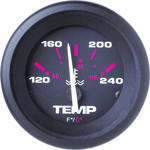 Sierra Amega Water Temperature Gauge - view number 1