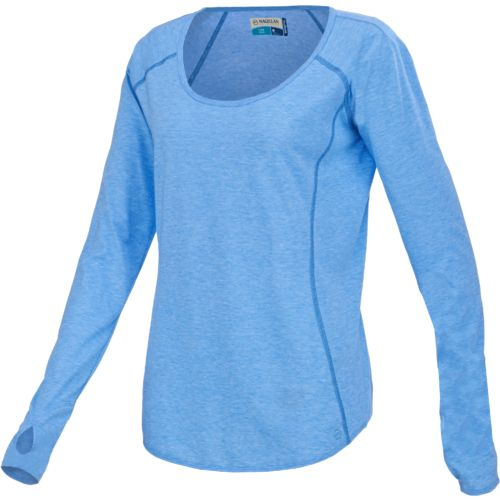 Magellan outdoors women 39 s dri release long sleeve t shirt for Magellan women s fishing shirts