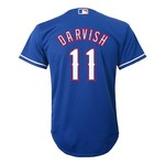 Majestic Boys' Texas Rangers Yu Darvish #11 Replica Jersey