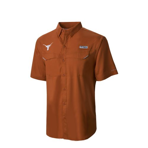Columbia Sportswear Men's University of Texas Low Drag Offshore Short Sleeve T-shirt