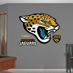 Fathead Jacksonville Jaguars Logo and Team Decals 4-Pack