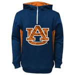 NCAA Kids' Auburn University 1/4 Zip Fleece Hoodie