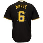 Majestic Men's Pittsburgh Pirates Starling Marte #6 Cool Base® Jersey - view number 1