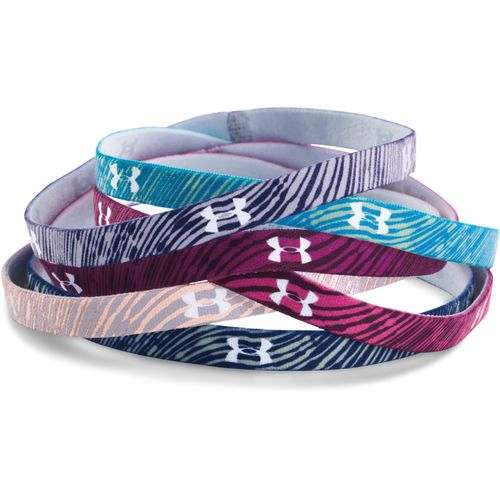 Under Armour Girls' Graphic Mini Headbands 6-Pack