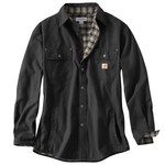 Carhartt Men's Weathered Canvas Shirt Jac - view number 2