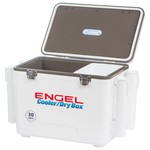 Engel 30 qt Cooler/Dry Box with Rod Holders - view number 4