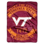 The Northwest Company Virginia Tech Rebel Raschel Throw