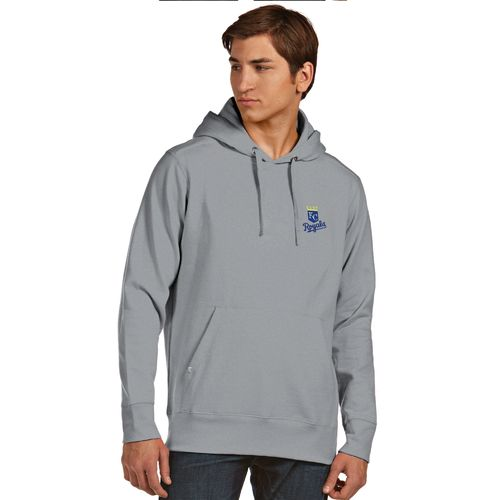 Antigua Men's Kansas City Royals Signature Pullover Hoodie