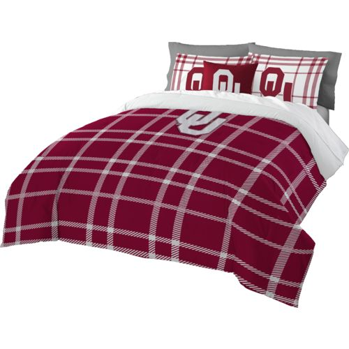 The Northwest Company University of Oklahoma Full Comforter and Sham Set