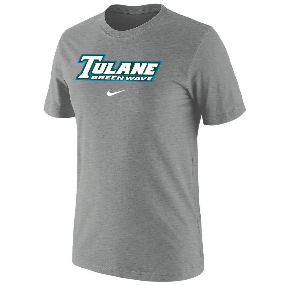 Nike™ Men's Tulane University Cotton Short Sleeve T-shirt