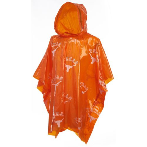Storm Duds Men's University of Texas Lightweight Stadium Rain Poncho