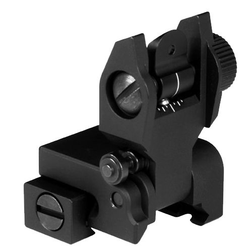 AIM Sports Inc.® AR Low-Profile Rear Flip-Up Sight
