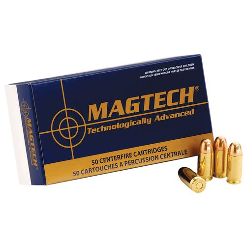 Magtech Sport Shooting 9mm 124-Grain Centerfire Handgun Ammunition