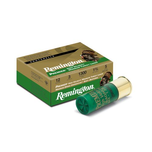Remington Premier® 12 Gauge High-Velocity Magnum Turkey Loads