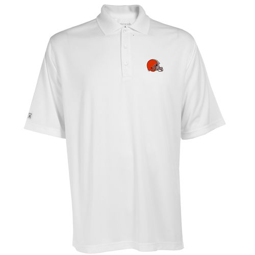 Antigua Men's Cleveland Browns Exceed Polo Shirt