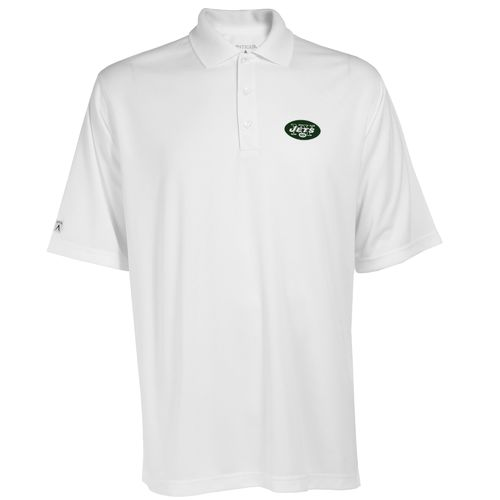Antigua Men's New York Jets Exceed Polo Shirt