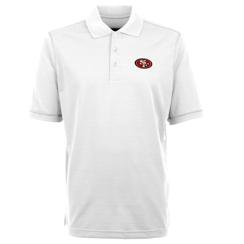 Antigua Men's San Francisco 49ers Icon Short Sleeve Polo Shirt - view number 1