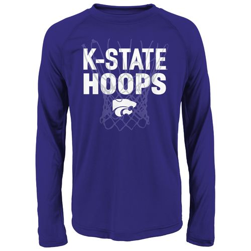 NCAA Boys' Kansas State University College Hoops Clima T-shirt