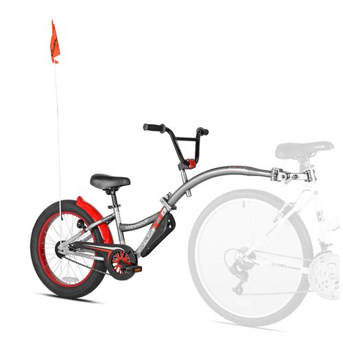 WeeRide Boys' Co-Pilot XT Tow-Behind Cycling Trainer
