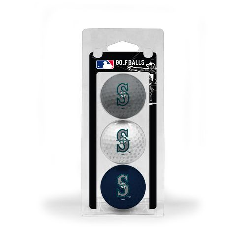 Team Golf Seattle Mariners Golf Balls 3-Pack - view number 1