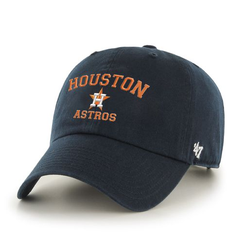 '47 Adults' Houston Astros Wordmark Logo Clean Up Cap