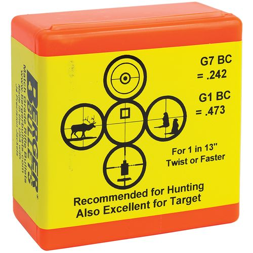 Berger Bullets® Match Grade .30 168-Grain Target Rifle Ammunition