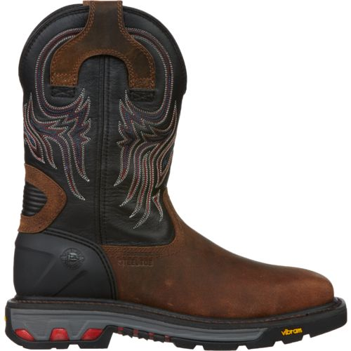 Display product reviews for Justin Men's Commander X5 Steel-Toe Work Boots