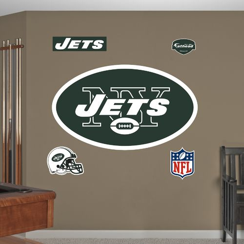 Fathead New York Jets Real Big Team Logo Decal