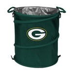 Logo™ Green Bay Packers Collapsible 3-in-1 Cooler/Hamper/Wastebasket - view number 1