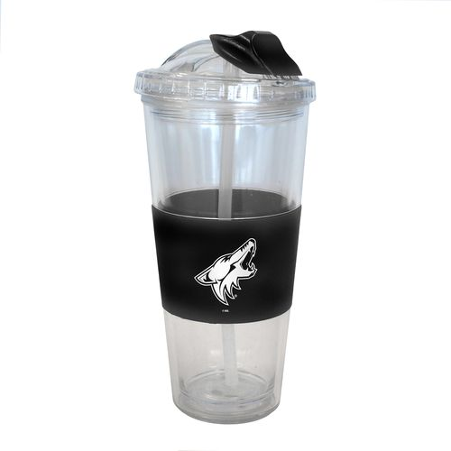 Boelter Brands Arizona Coyotes 22 oz. No-Spill Straw Tumblers 2-Pack
