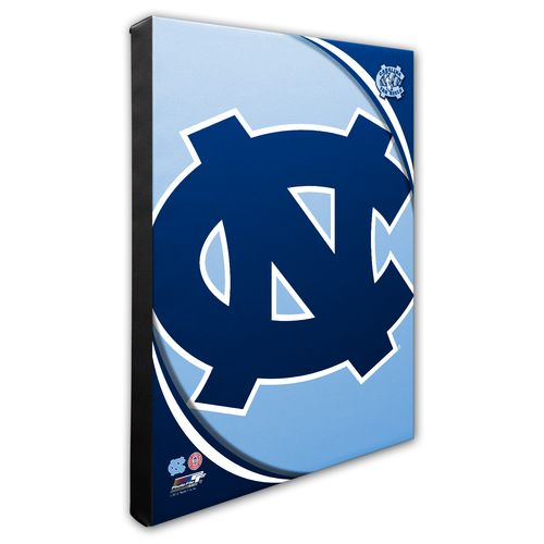 Photo File University of North Carolina Logo Stretched Canvas Photo - view number 1
