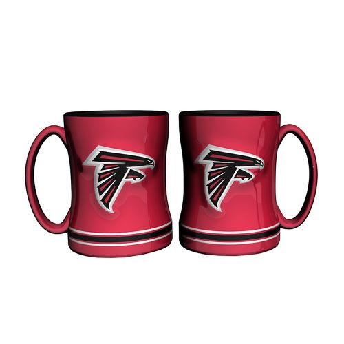 Boelter Brands Atlanta Falcons 14 oz. Relief Mugs 2-Pack