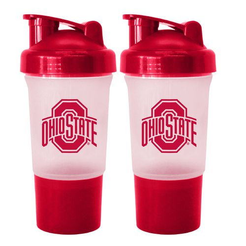 Boelter Brands Ohio State University 16 oz. Protein Shakers 2-Pack