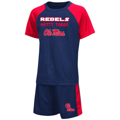 Colosseum Athletics Toddler Boys' University of Mississippi Gridlock Set