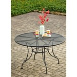 Mosaic Steel Mesh Round Dining Table - view number 2