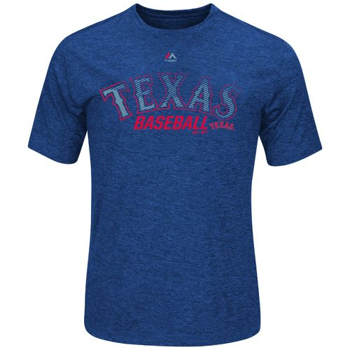 Majestic Men's Texas Rangers Out of Reach T-shirt