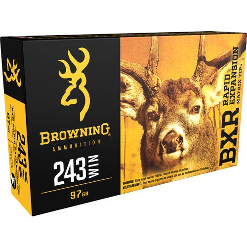Browning Deer Hunting .243 Winchester 97-Grain Rifle Ammunition