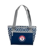 Logo Texas Rangers DD 16-Can Cooler Tote Bag
