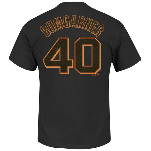 Majestic Men's San Francisco Giants Madison Bumgarner #40 T-shirt