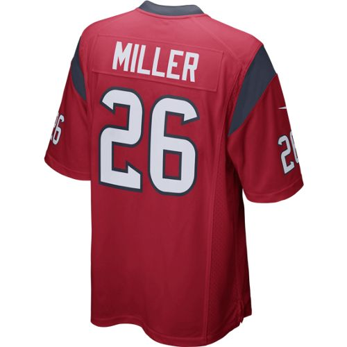 Nike Men's Houston Texans Lamar Miller #26 Game Jersey