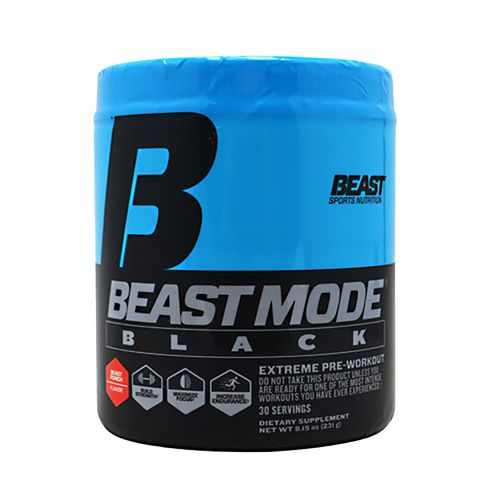Beast Sports Nutrition Beast Mode Professional Strength Pre-Workout Powder