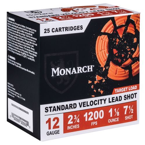 Display product reviews for Monarch® Target Loads 12 Gauge Shotshells