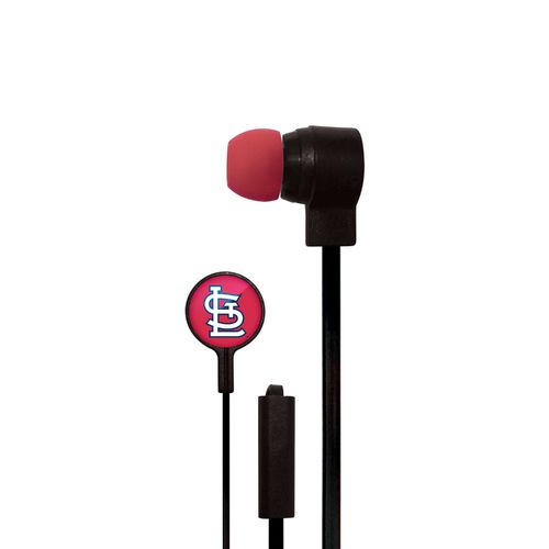 Mizco Sports St. Louis Cardinals Big Logo Earbuds