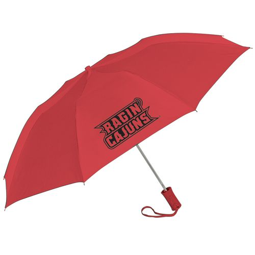 Storm Duds Adults' University of Louisiana at Lafayette Automatic Folding Umbrella - view number 1