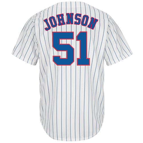Majestic Men's Montreal Expos Randy Johnson #51 Cooperstown Cool Base Replica Jersey - view number 1
