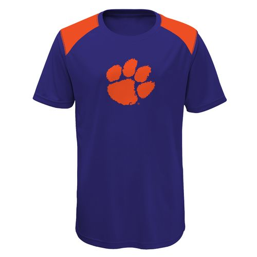 Gen2 Boys' Clemson University Ellipse Performance Top