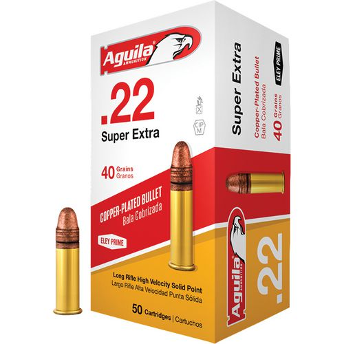 Display product reviews for Aguila Ammunition LR High Velocity .22 40-Grain Rimfire Ammunition