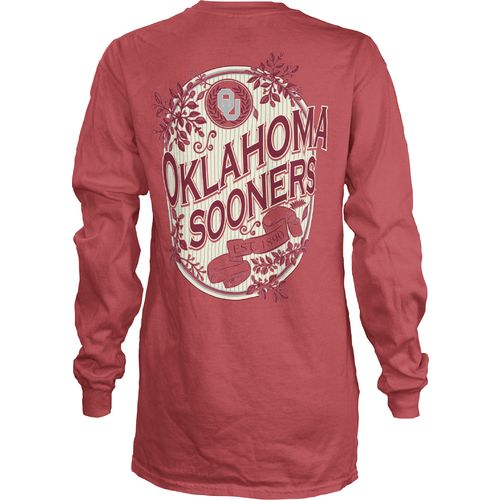 Three Squared Juniors' University of Oklahoma Maya Long Sleeve T-shirt
